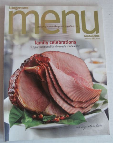 Merry christmas wishes and greetings. Wegmans Menu Magazine #27 - Family Celebrations - Holiday ...