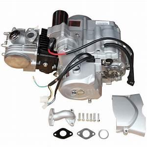 Promax 125cc Atv Engine Motor Semi Auto W  Reverse For 50