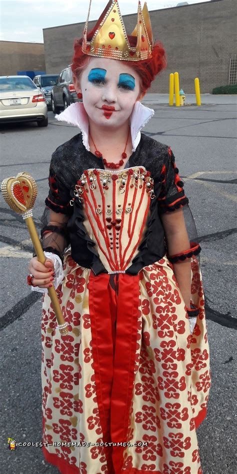 Cool Homemade Red Queen Costume