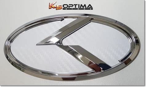 Kia 3.0 K Logo Emblem Sets