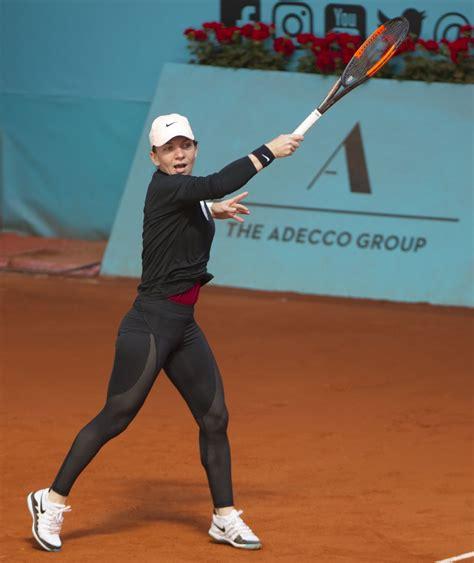 Simona Halep vs. Elise Mertens | 2018 Mutua Madrid Open Second Round | WTA Highlights - YouTube
