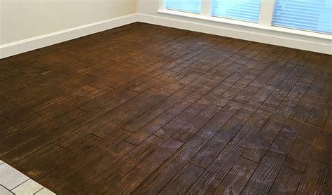 hardwood floor concrete concrete basement floor resurfaced ideas concrete craft
