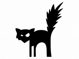 41 printable and free halloween templates hgtv With black cat templates for halloween