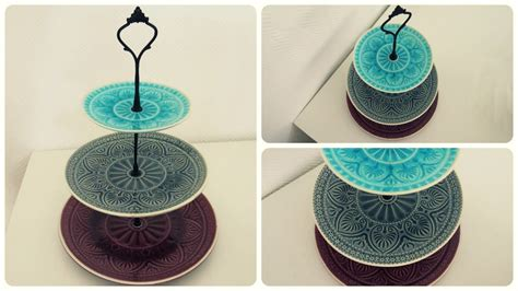 Etagere Selber Machen * Cake Stand Diy [eng Sub] Youtube