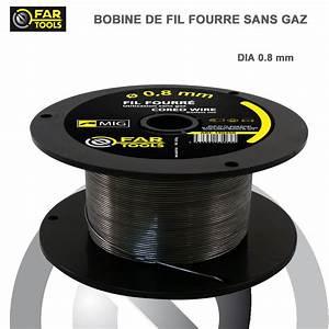 Fil Fourré Sans Gaz : lot 2 bobines fils de soudure fourr 0 8 mm sans gaz 43 50 ~ Dailycaller-alerts.com Idées de Décoration