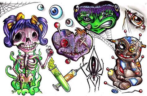 New School Evil Tattoo Ideas