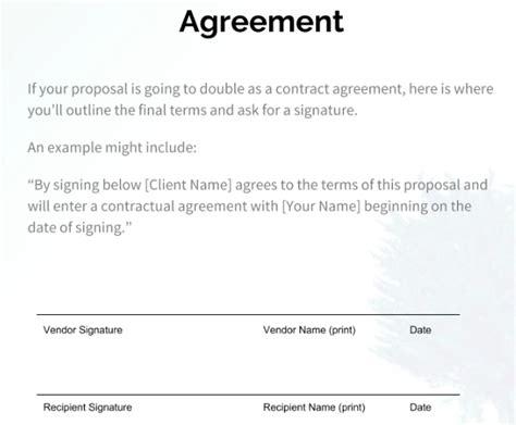 write  business proposal   steps