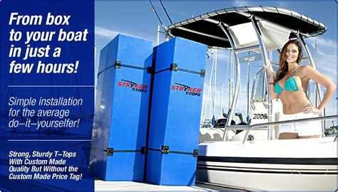 Whaler Tekne by Stryker T Tops Installation Guides And Product Support