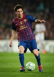 Lionel Messi in FC Barcelona v AC Milan - UEFA Champions ...