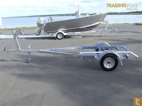 Boat Trailer Rollers And Skids by New Australian Made 14ft Boat Trailers Skid Or Roller For