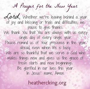 A Prayer and Bi... New Year Pray Quotes