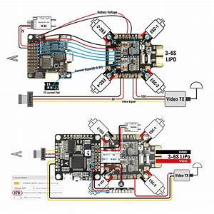 Pdb Fchub  Current Sensor 184a  Bec 5v  U0026 10v  U2013 Matek Systems