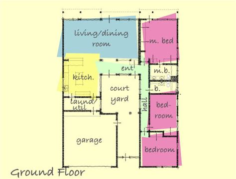 style house plans with interior courtyard small house plans with interior courtyard home deco plans