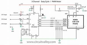 embedded engineering 800khz 3 channel pwm meter quotduty With led pwm circuit
