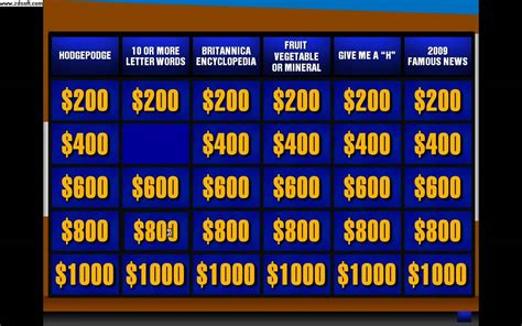 jeopardy powerpoint game  add
