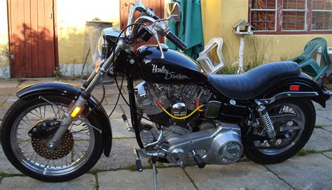 Harley-davidson Fx 1200. Photos And Comments. Www.picautos.com