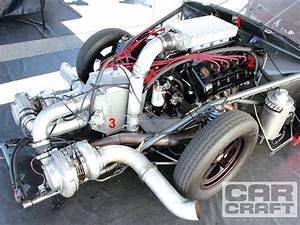 2 500hp  330ci  Twin-turbo  5 4 Modular Ford Engine