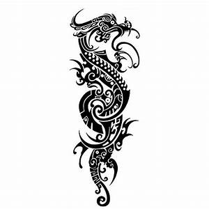2016 Summer Hot Chinese Black Dragon Tattoo Designs ...