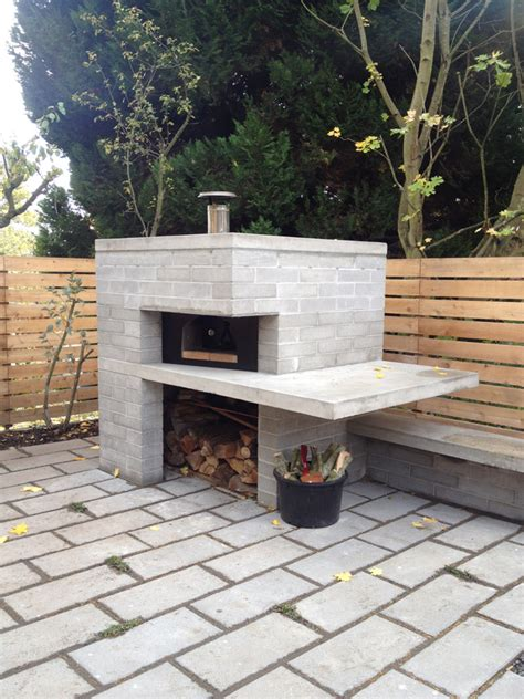 outdoor pizza oven and garage almost finished shed blog