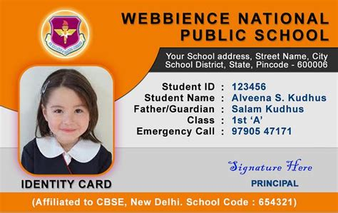 awesome  id card template images id card template