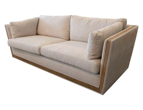 Union Settee by Mcguire Union Sofa The Local Vault
