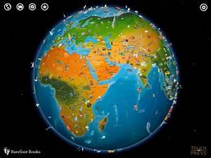 Barefoot World Atlas - A Beautifully Interactive Globe ...