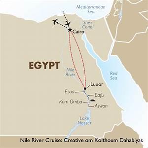 Nile River Cruise: Creative om Kolthoum Dahabiyas | Goway