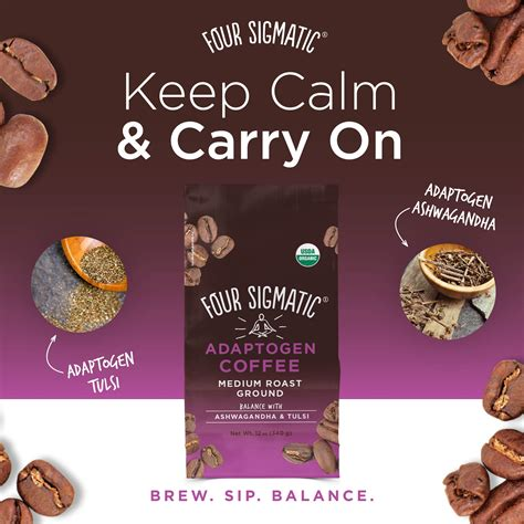 The new beverage offers the same morning brew taste coffee connoisseurs love, but blended with functional mushrooms. Four Sigmatic Adaptogen Coffee - Medium Roast Ground - My Easy Keto Journey