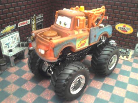 wheels monster jam truck custom built 1 64 scale pixar cars tow mater wheels