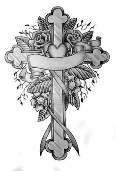 Cross Tattoo Designs With Names | Cross Tattoo | tattoo