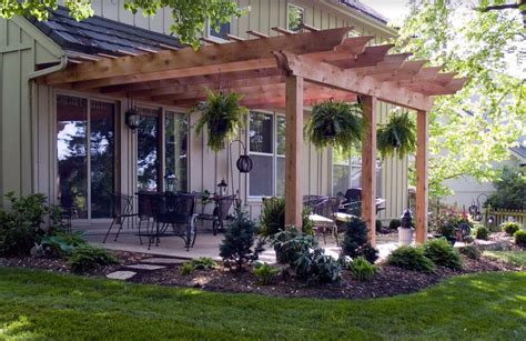 pergola attached to house pergola attached to the house touch home decor