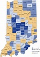 Many Indiana counties see stronger population growth in ...