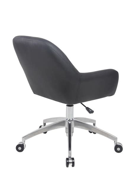 chaises de bureau capa chaise de bureau design piétement alu poli kayelles com