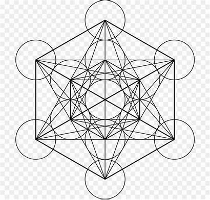 Metatron Cube Sacred Geometry Grid Metatrons Overlapping