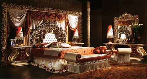 european style luxury imperial wood carved bedroom set top