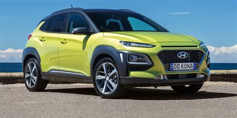Hyundai Car : 2018 Hyundai Kona Pricing And Specs