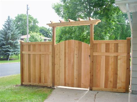 Fence - Gate : Again, Double Gate And Slightly Wider Arbor @ For The Side