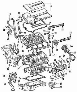 Genuine Oem Valve Cover Part  C2s48786 Fits 2002
