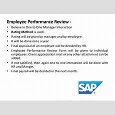 Performance Appraisal Of 5 Companies Done By Shwetabebarta