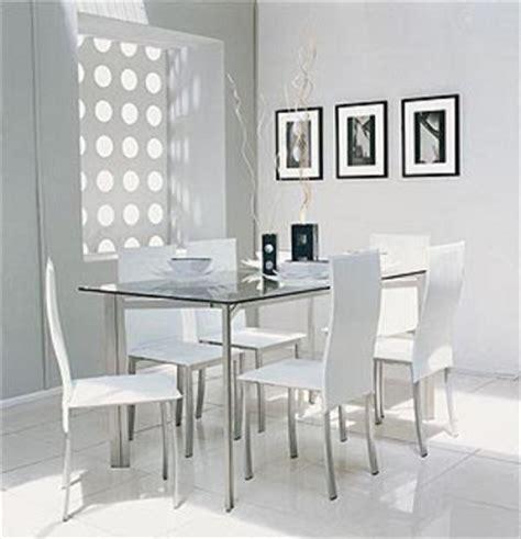 blanco  la decoracion del comedor decoracionin