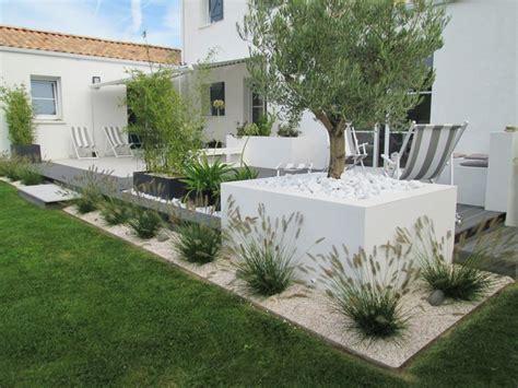 amenagement bureau terrasse à vivre et aménagement paysager style