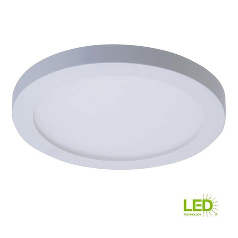 Surface Mounted Led Ceiling Light by Halo Smd 4 In White Integrated Led Recessed Surface