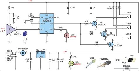 Xantech Ir Receiver Wiring Diagram by Top Circuits Page 783 Next Gr