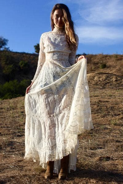 real deal exquisite victorian lace gown dress