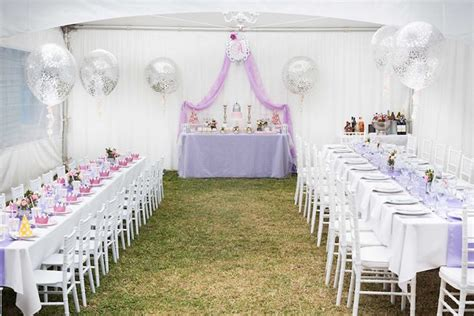 karas party ideas elegant purple princess birthday party