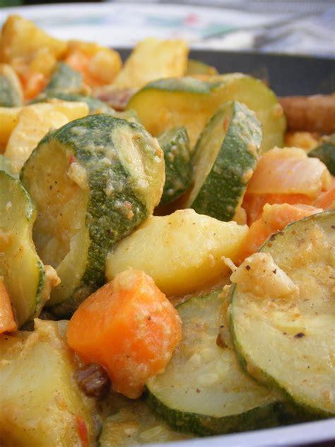 cuisine lait de coco curry de légumes au lait de coco pour 4 personnes