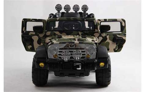volts jeep  voiture electrique enfant army camouflage