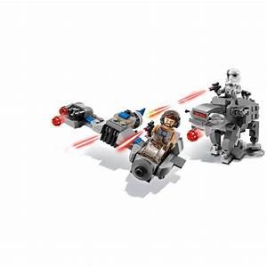 LEGO Star Wars Ski Speeder Vs First Order Walker