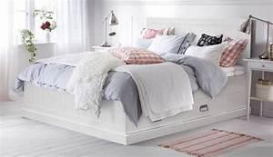 Ikea Bett Weiß 180x200 : doppelbetten franz sische betten king size betten ikea ~ A.2002-acura-tl-radio.info Haus und Dekorationen