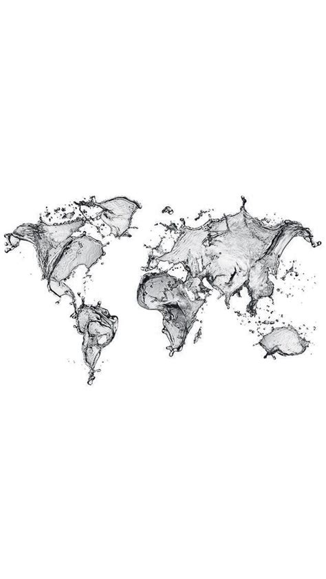 black  white wallpapers map wallpaper iphone